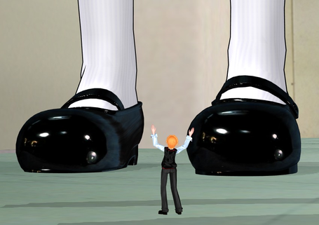 [Enty]Giantess Animations IS CREATING 'size fetish animations and games'