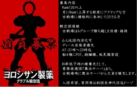 [Enty]y_kobayashi IS CREATING 'グラブル騎空団ヨロシサン製薬 戦略企画室'