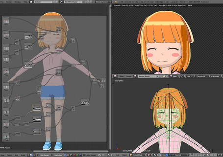 [Enty]うぃらー IS CREATING '3DCG and Tools'